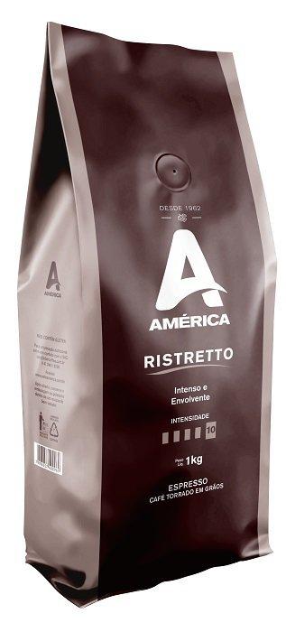Café Torrado Em Grão América Ristretto 1kg