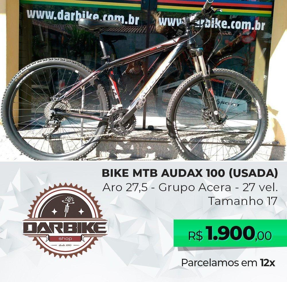 Bicicleta Audax 100 Aro 27.5 27vel - Usada