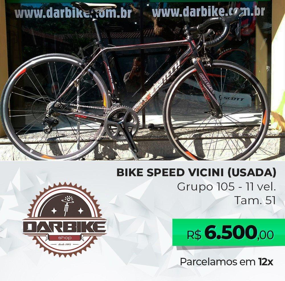 Bicicleta Vicini Corsa Carbon 22vel - Semi Nova