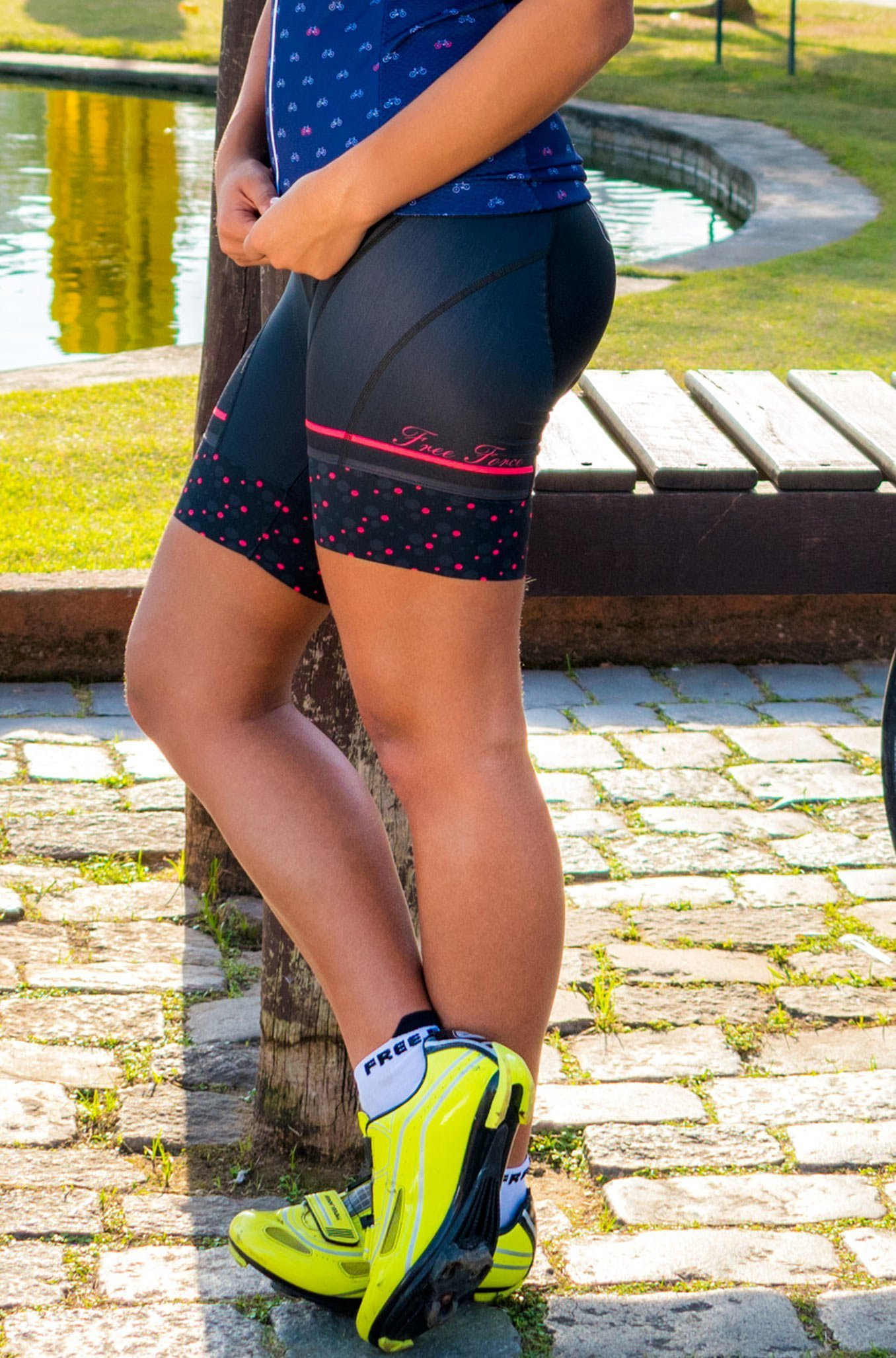 Bermuda Free Force Sport Angel - Feminina