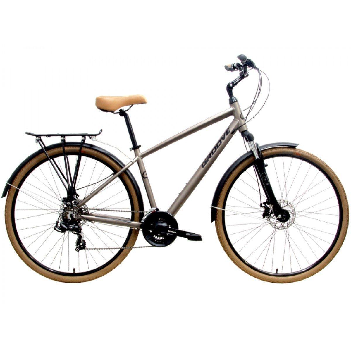 Bicicleta Groove Blues Disc Aro 700 21vel