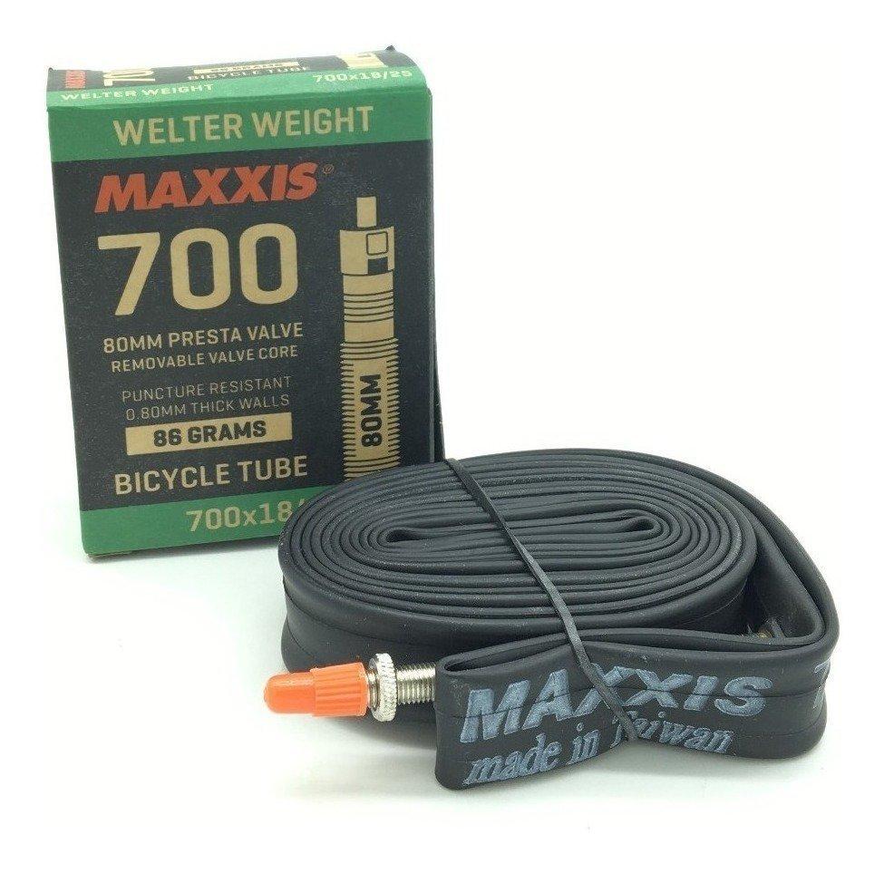 Câmara de Ar Maxxis UltraLight 700x18/25c - Válvula 80mm