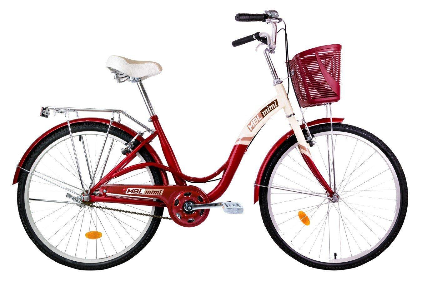Bicicleta Urbana Mobele Mimi & Bibi Aro 26 com Cestinha