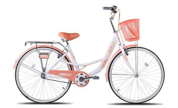 Bicicleta Urbana Modele Mimi & Bibi Aro 26 com Cestinha