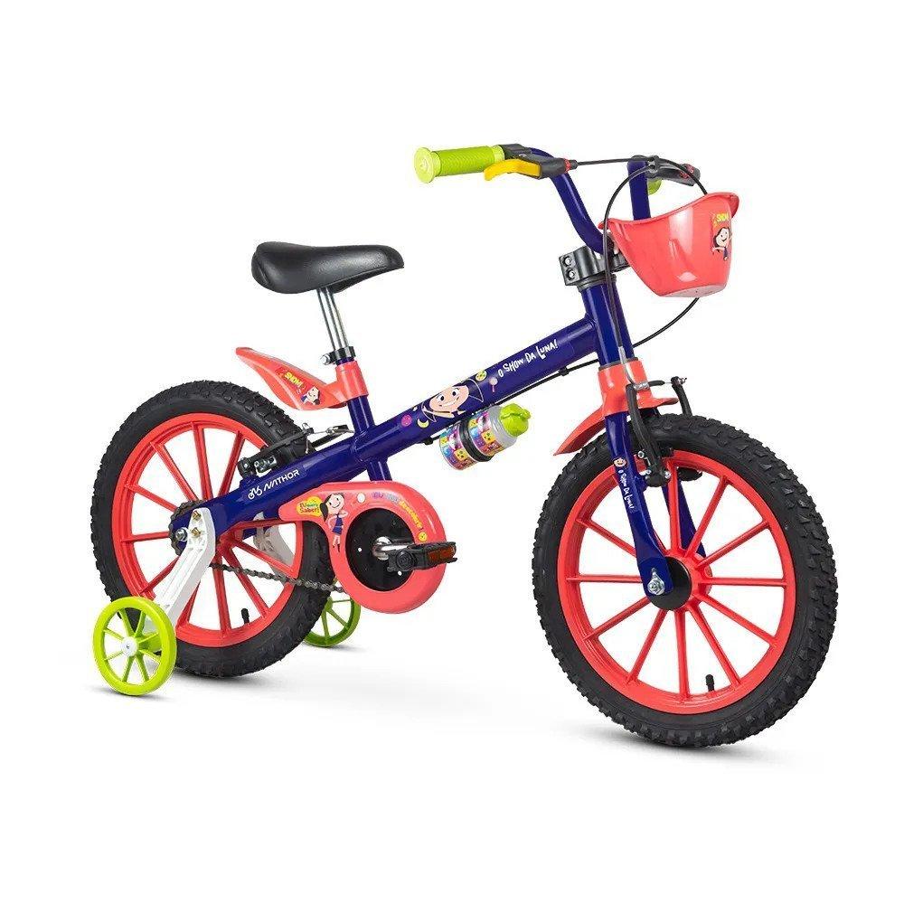 Bicicleta Infantil Nathor Show da Luna Aro 16