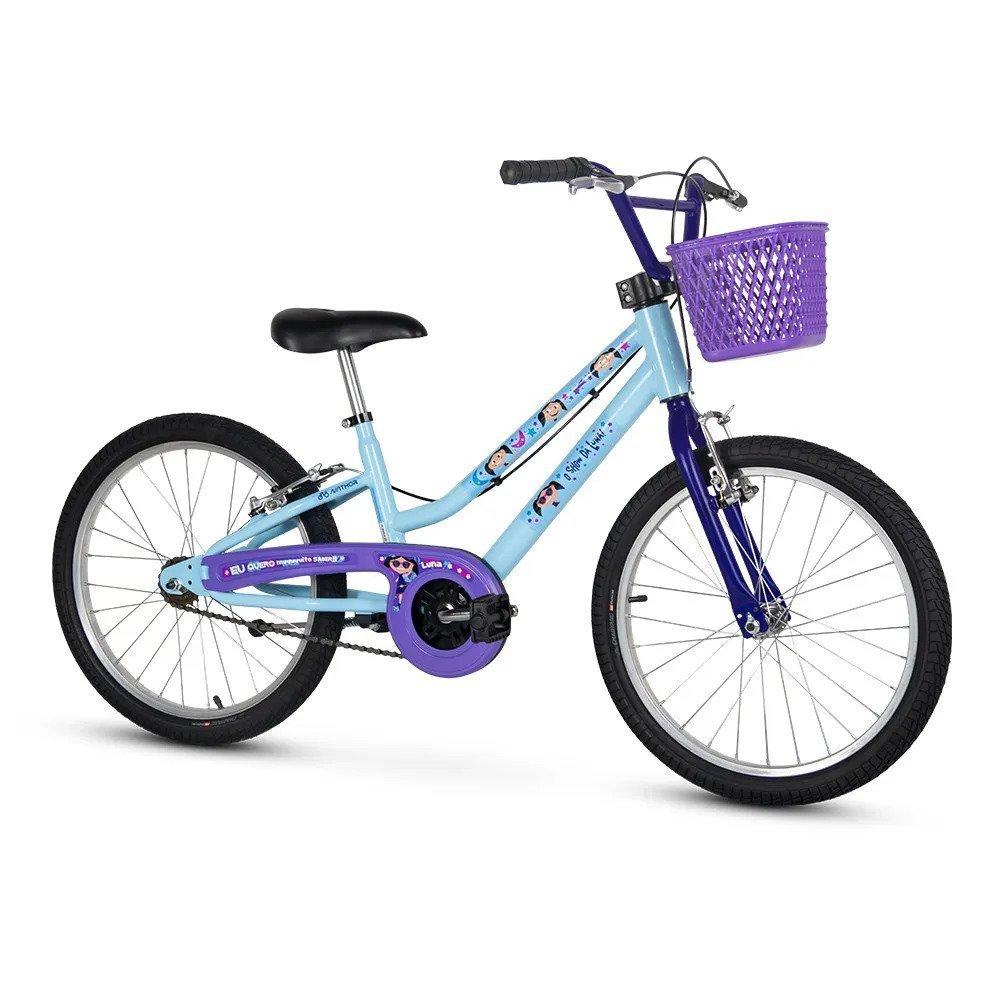 Bicicleta Infantil Nathor Show da Luna Aro 20
