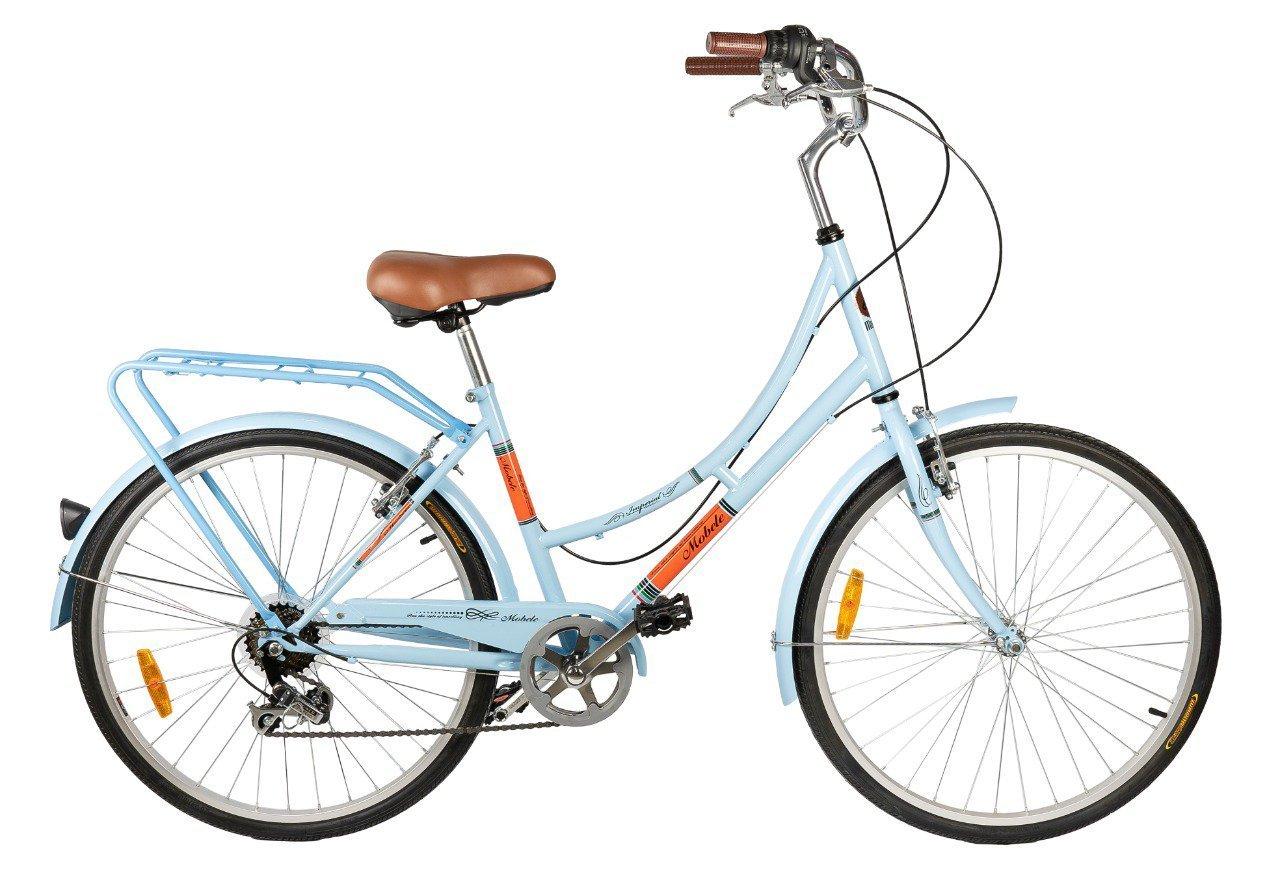Bicicleta Urbana Mobele Imperial Aro 26 com Cestinha