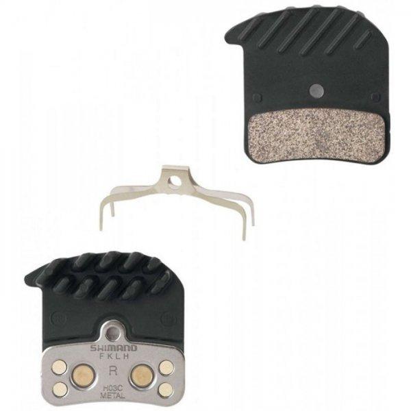 Pastilha de Freio à Disco Shimano Ice Tech Saint / Zee Metal BR-M820 H03C