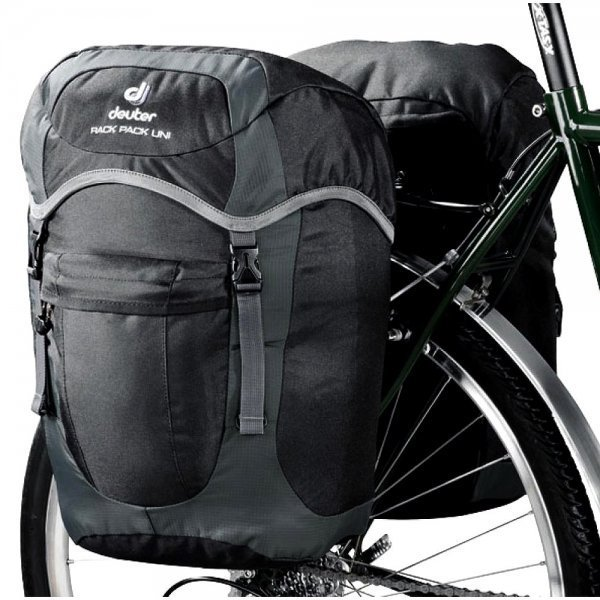 Alforje Deuter Rack Pack Uni 20Lts - Preto