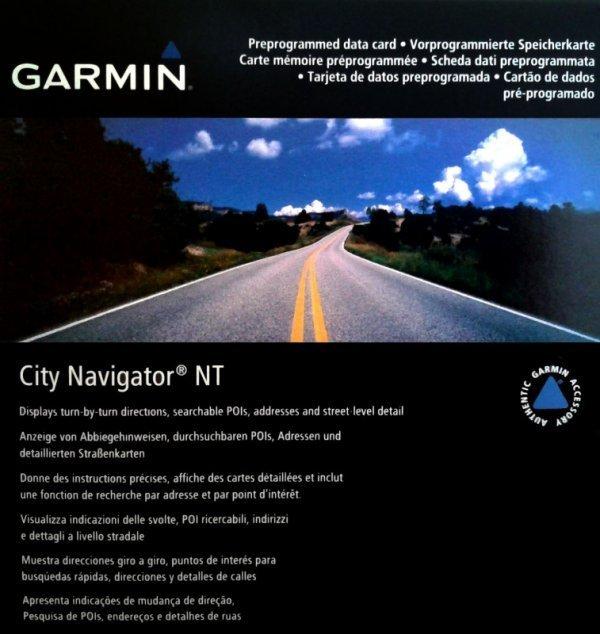 Mapa Garmin City Navigator NT 2015 Brasil