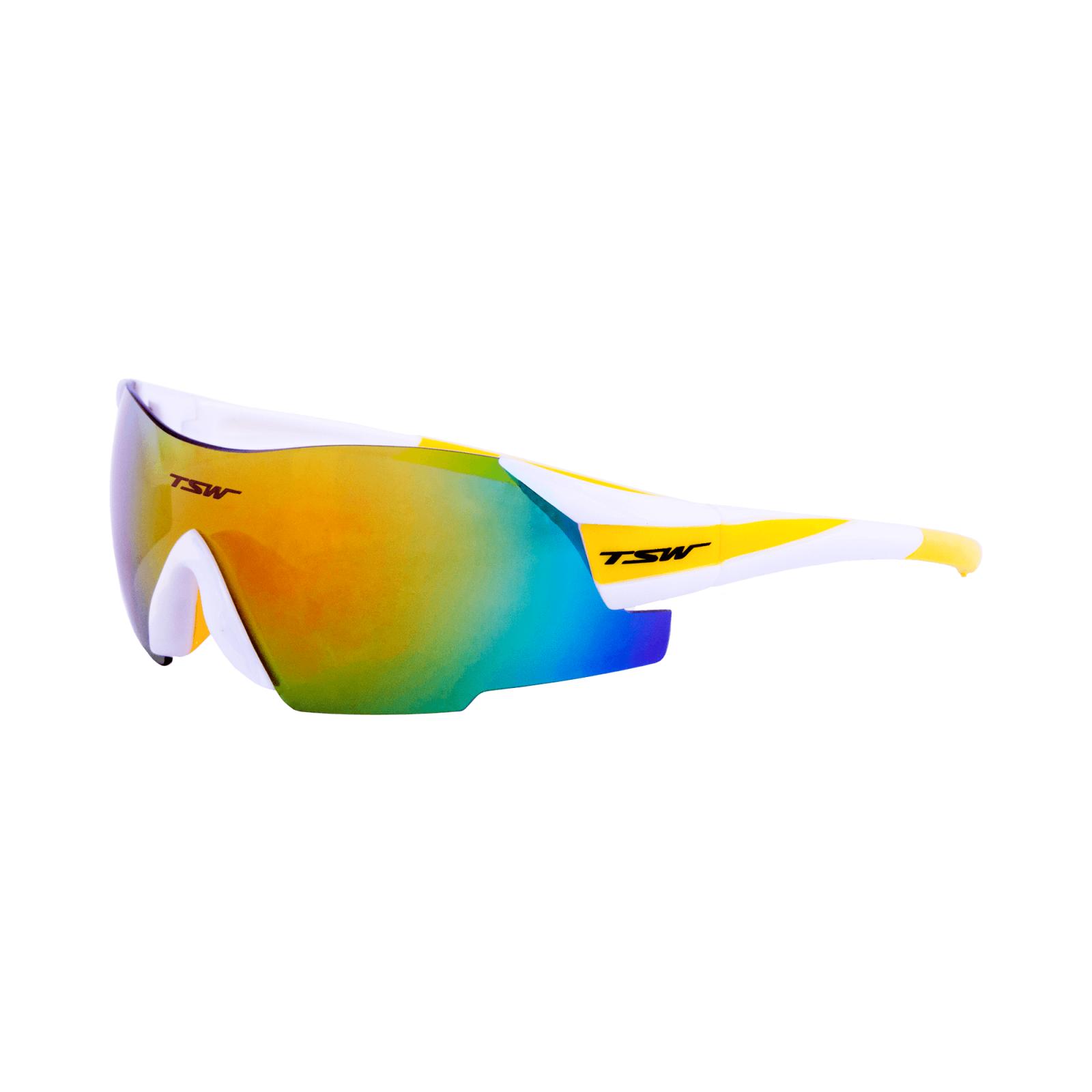 Óculos TSW Vitalux - Branco/Amarelo 2 lentes