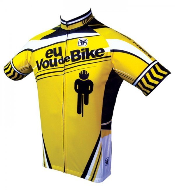 Camisa Free Force Traffic - Vou de Bike