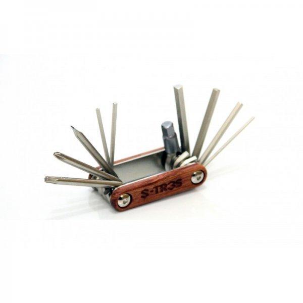 Ferramenta Canivete Session Parts S-Tr3s - 10 Funções