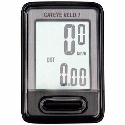 Ciclo Computador Cateye Velo 7 CC VL520 - 7 Funções