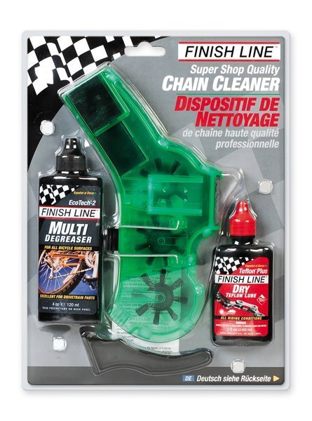 Kit limpador de Corrente Finish Line Chain Cleaner