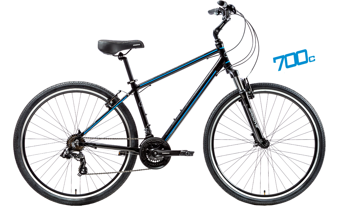 Bicicleta Groove Blues Confort & Urbana 700c 21vel