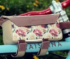 Bolsa de Quadro e Porta Celular Draisiana  Floral