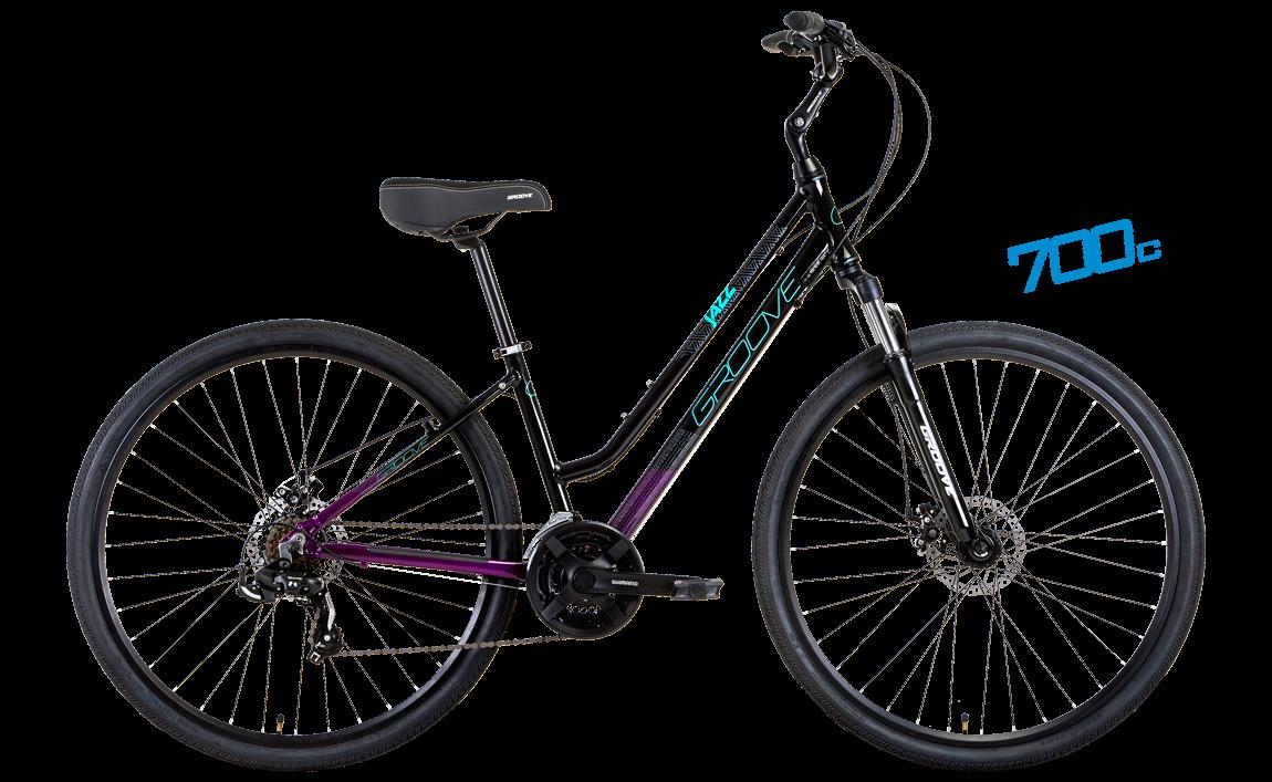 Bicicleta Groove Jazz Disc Confort & Urbana 700c - 21vel