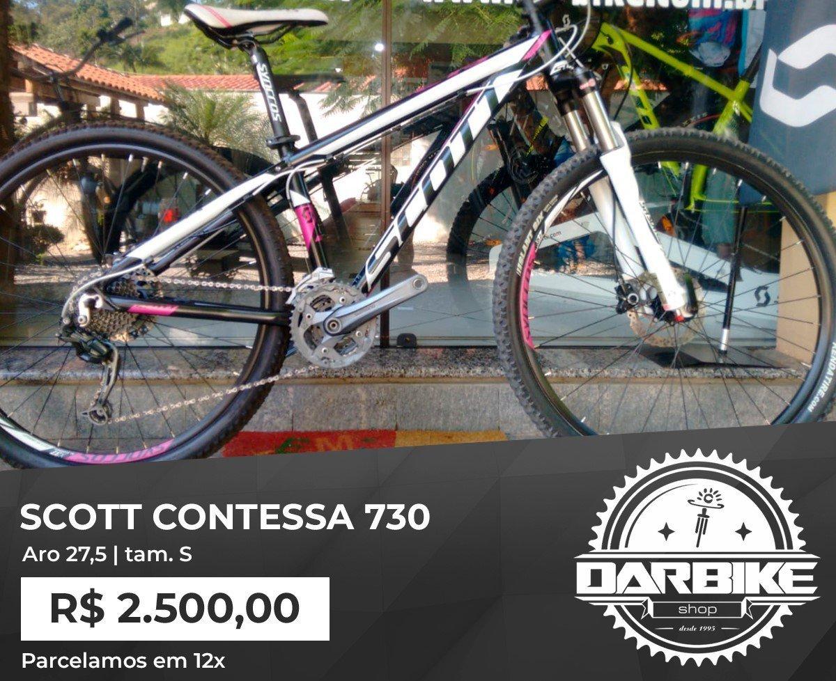Bicicleta Scott Contessa Scale 27.5 - Semi Nova