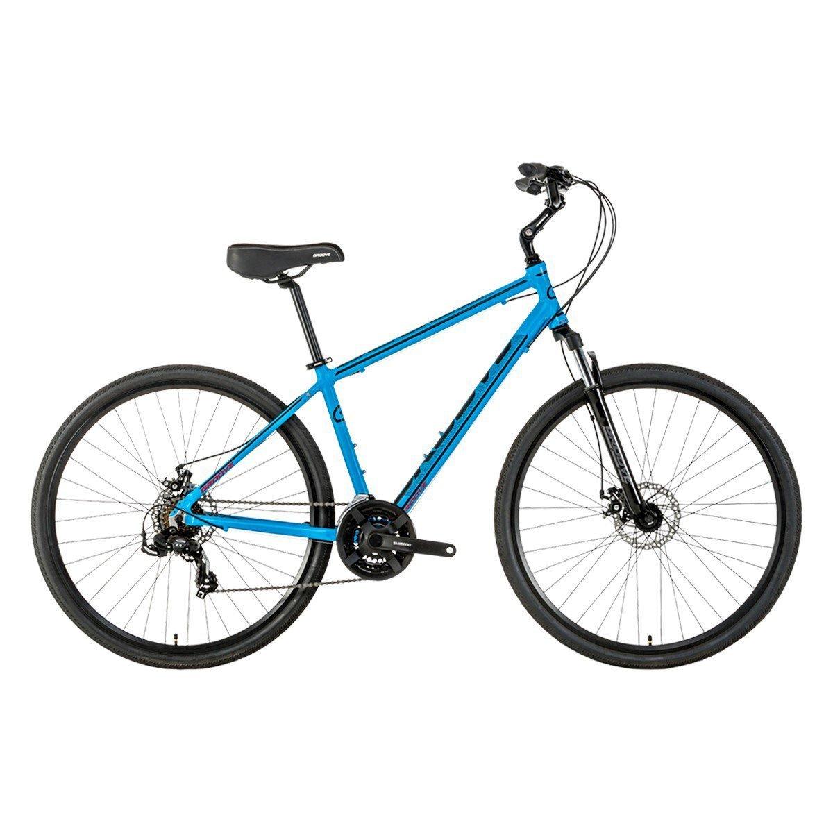 Bicicleta Groove Blues Disc Confort & Urbana 700c 21vel 2018