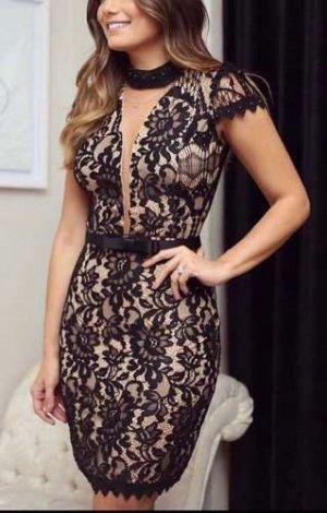 Vestido Curto Feminino De Festa Blogueira Moda Lindo #vc4