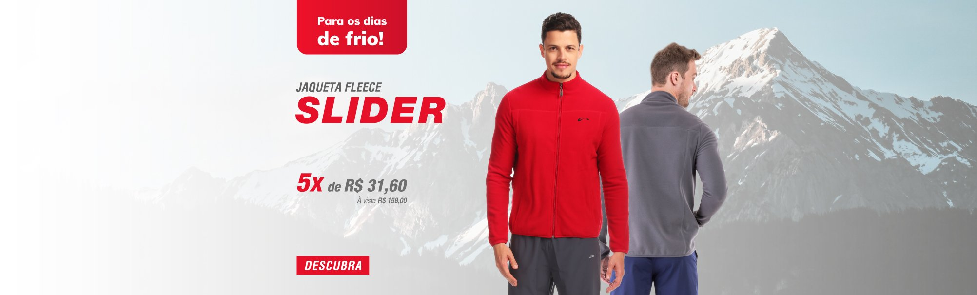 Jaqueta Fleece Slider