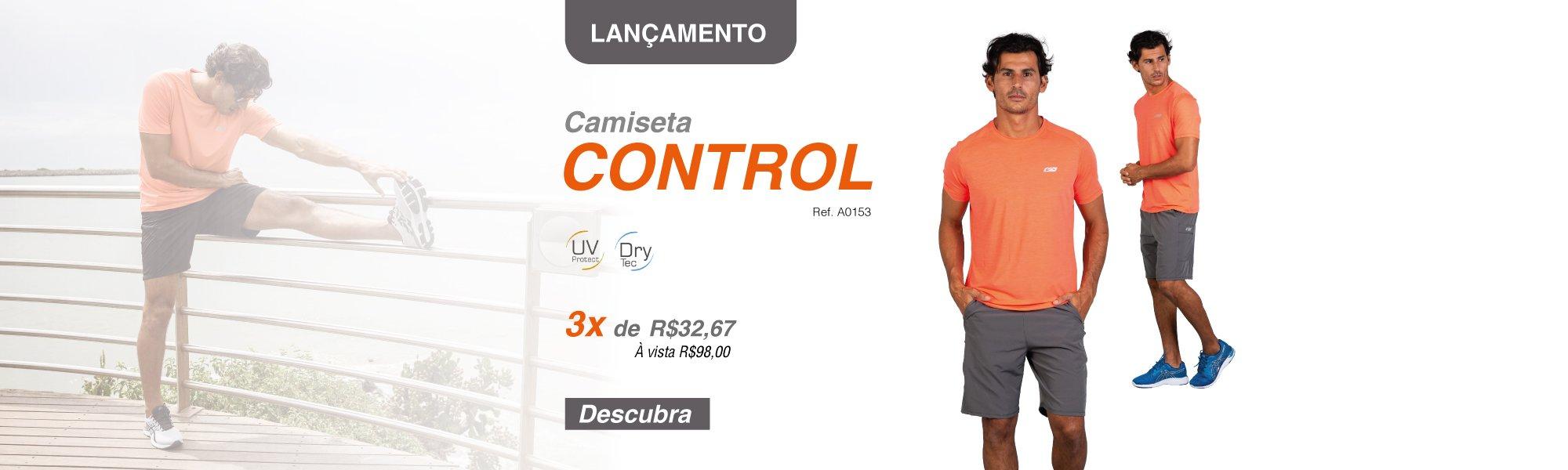 Camiseta Control