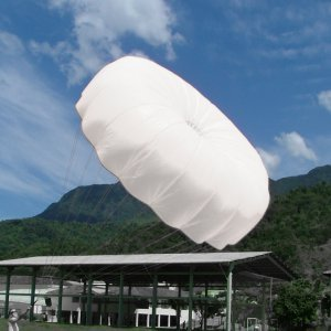 Paraquedas Reserva asa delta 34