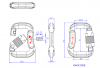 Mosquetão Alumínio Fly 30 mm